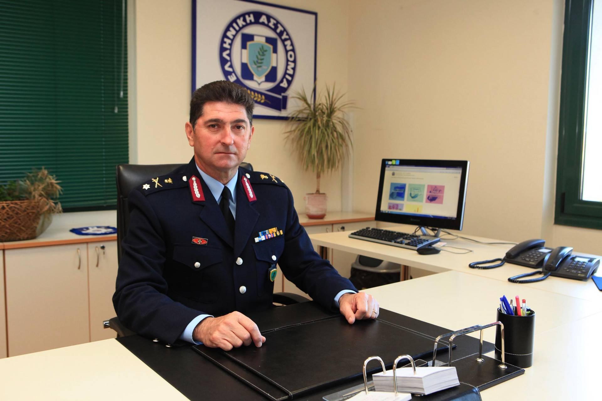 Αποχαιρετιστήρια Επιστολή Γενικού Περιφερειακού Αστυνομικού Διευθυντή Δυτικής ΜακεδονίαςΥποστράτηγου ε.ο.θ. Σιόρεντα Δημητρίου