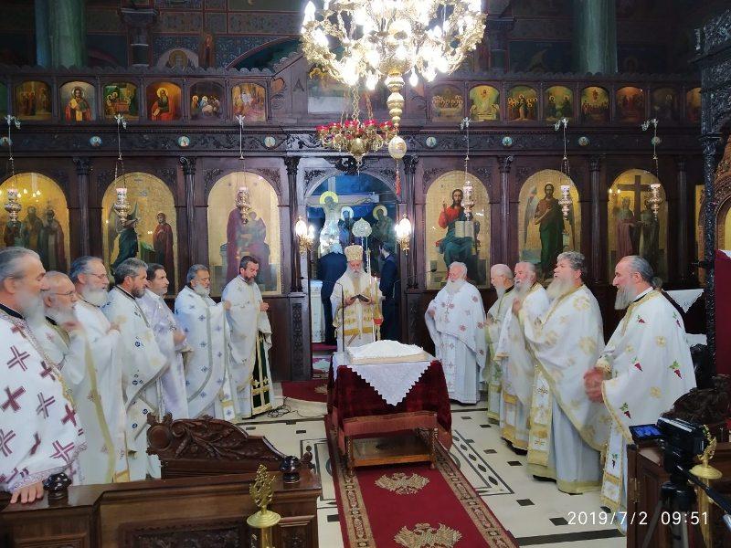 Θεία Λειτουργία Πανελληνίου Συνδέσμου Ιεροδιδασκάλων στην Ευαγγελίστρια Γρεβενών