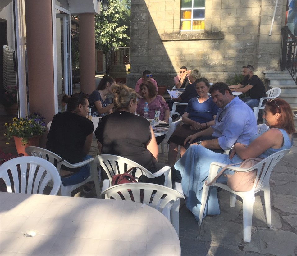 Επισκέψεις του υπ.Βουλευτή Γρεβενών της Ν.Δ. Θανάση Σταυρόπουλου σε τοπικές κοινότητες των Γρεβενών