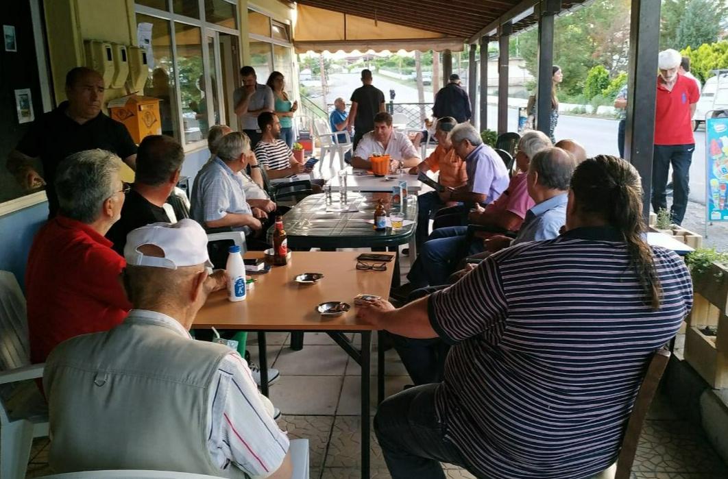 Επισκέψεις του υπ. βουλευτή Γρεβενών της Ν.Δ. Θανάση Σταυρόπουλου σε τοπικές κοινότητες
