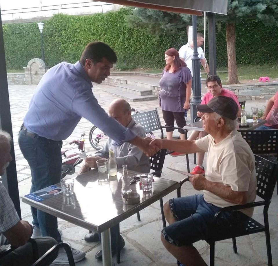 Επισκέψεις του υπ. Βουλευτή Γρεβενών της ΝΔ Ανδρέα Πάτση σε τοπικές κοινότητες