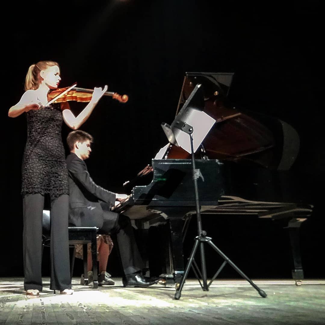 Μια μαγική βραδιά με σονάτες για βιολί και πιάνο του Βόλφγκαμ Αμαντέους Μότσαρτ, Μπέλα Μπάρτοκ και Γιοχάννες Μπράμς