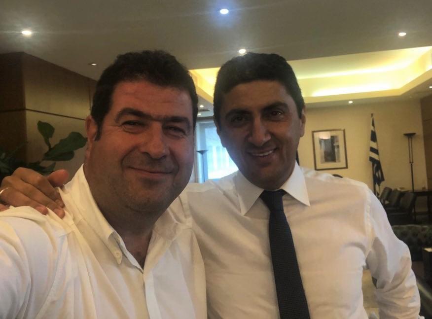 Επισκέψεις και συναντήσεις του Θανάση Σταυρόπουλου με τα στελέχη της νέας κυβέρνησης