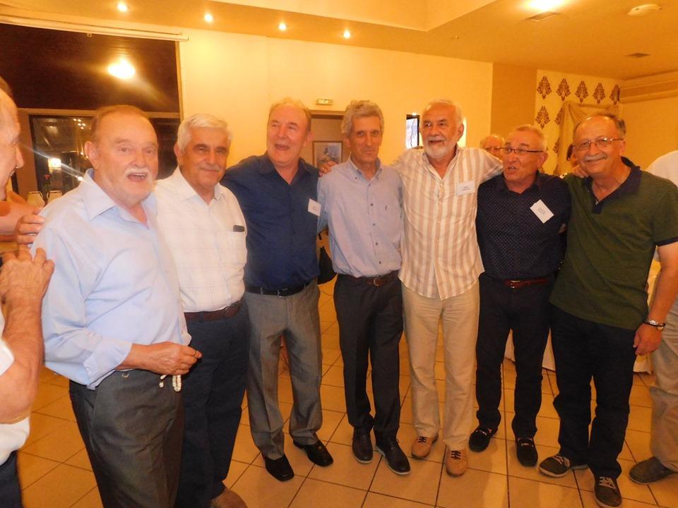 Συνάντηση συμμαθητών Λυκείου Γρεβενών μετά από 50 Χρόνια!