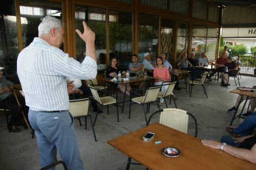 Επισκέψεις και ομιλίες του υπ.Βουλευτή του ΣΥΡΙΖΑ Γιώργου Καλαμάρα σε τοπικές κοινότητες των Γρεβενών