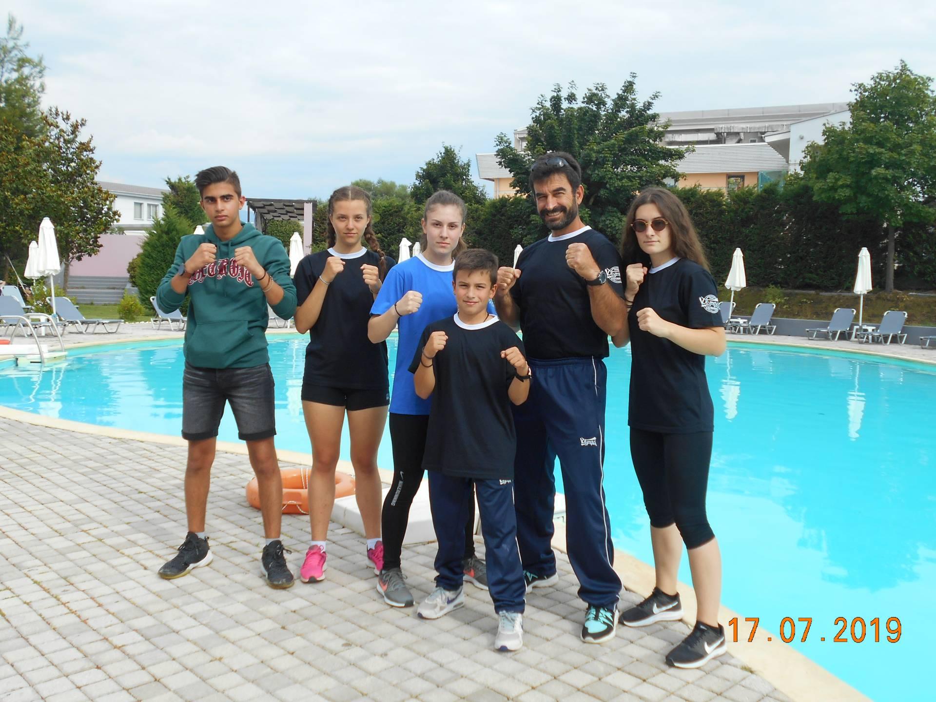 Ο Α.Γ.Σ. Ελιμειώτης TSEPIDIS BOXING CLUB στην αγωνιστική εκδήλωση TITANIA EVENTS