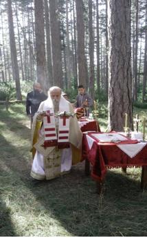 Θεία Λειτουργία από τον Σεβασμιώτατο Μητροπολίτη Γρεβενών κ. Δαβίδ, στο μοναδικό τοπίο της Βάλια Κάλντα Γρεβενών