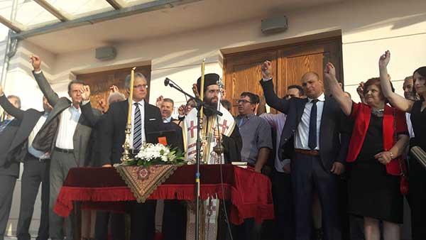 Ορκίστηκε η νέα δημοτική αρχή Βοΐου πλήθος κόσμου – Μήνυμα ενότητας προέβαλε ο δήμαρχος Χρήστος Ζευκλής