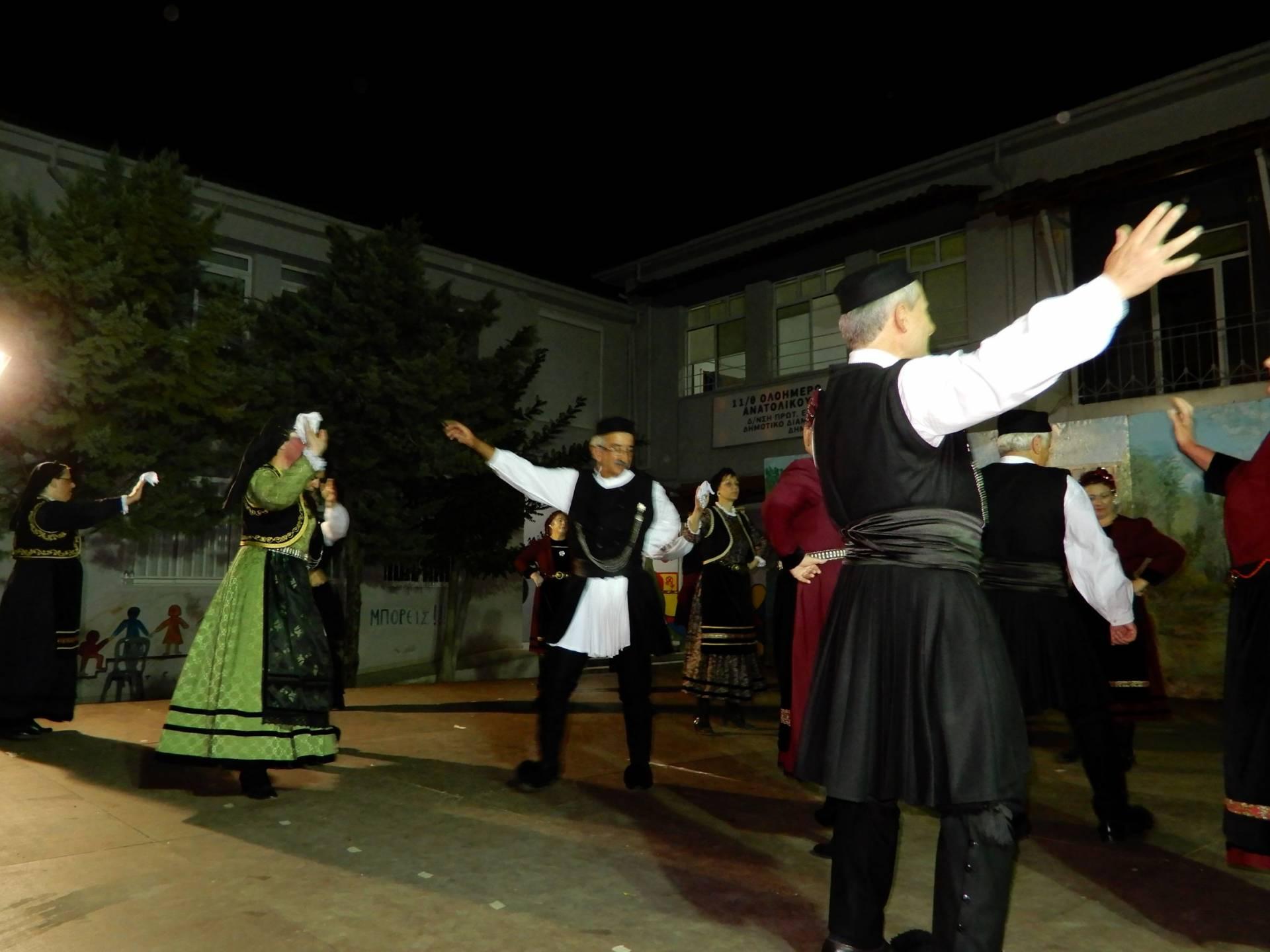 """Το χορευτικό τμήμα του Συλλόγου Γρεβενιωτών Κοζάνης """"Ο ΑΙΜΙΛΙΑΝΟΣ"""" στις εκδηλώσεις ΦΑΝΟΥΡΕΙΑ 2019"""