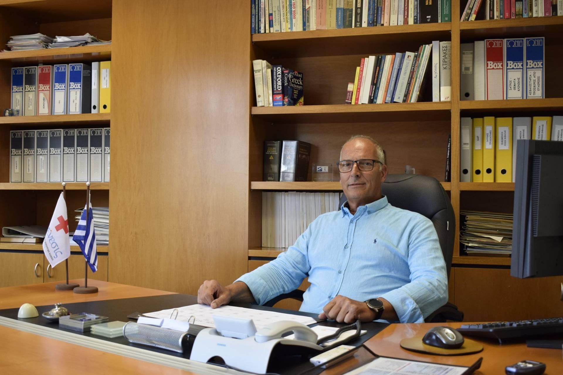 Ο Γυναικολόγος Ανδρέας Τζιόβας,που δραστηριοποιείται επαγγελματικά και στην πόλη των Γρεβενών, είναι ο νέος Πρόεδρος στην κλινική Γένεσις