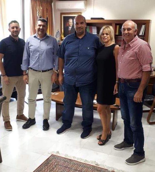 Τον Αντιπεριφερειάρχη της Περιφερειακής Ενότητας Γρεβενών  κ. Γιάννη Γιάτσιο επισκέφθηκε ο πρόεδρος της ΕΠΣ Γρεβενών