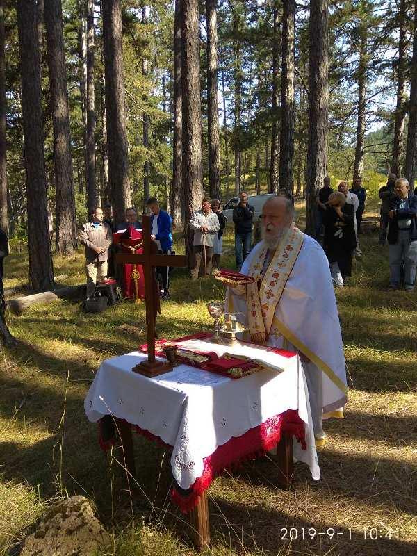 Μια ιδιαίτερη Θεία Λειτουργία στη Βάλια Κάλντα