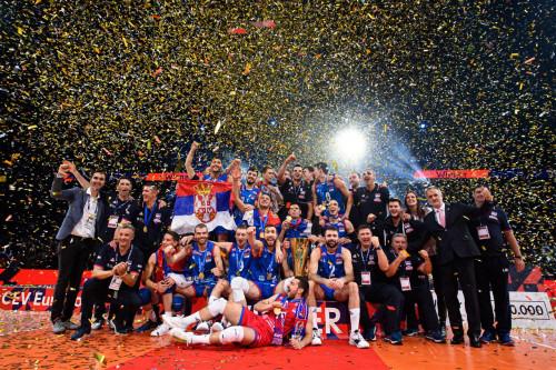 Πρωταθλήτρια Ευρώπης στο volley ανδρών η Σερβία ( video )