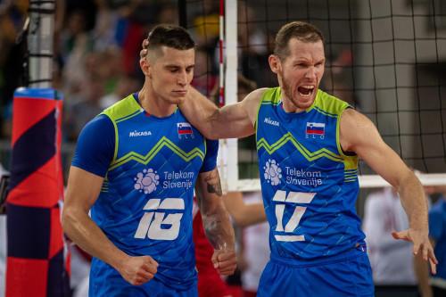 """Ευρωπαϊκό ανδρών: Η Σλοβενία έριξε τη """"σφαλιάρα"""" της χρονιάς στην Πολωνία και πήγε τελικό"""