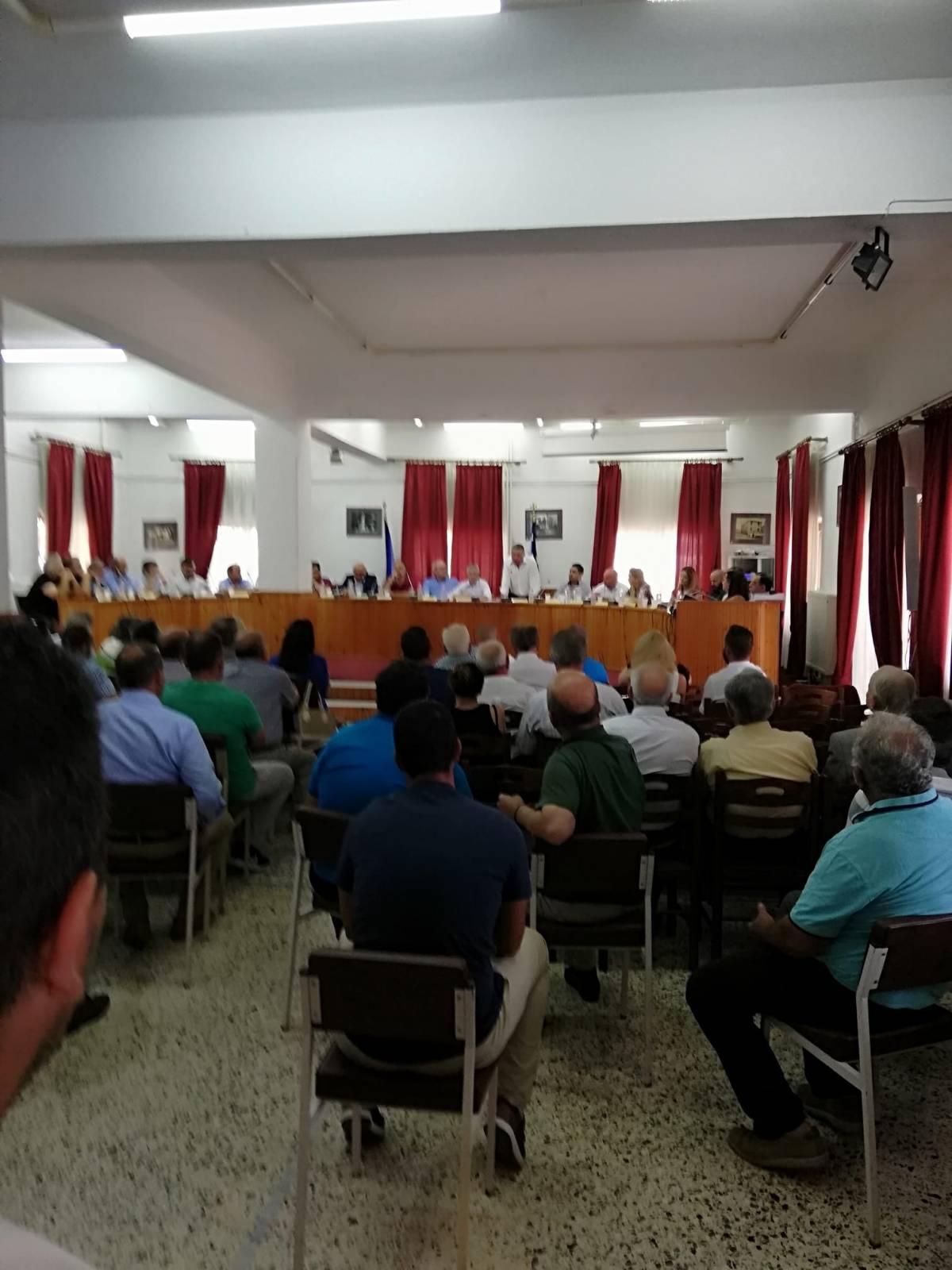 Συνεδρίαση 1ου Δημοτικού Συμβουλίου Δεσκάτης