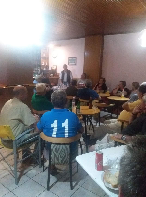 Η πρώτη λαϊκή συνέλευση στην Κατάκαλη παρουσία πολλών κατοίκων