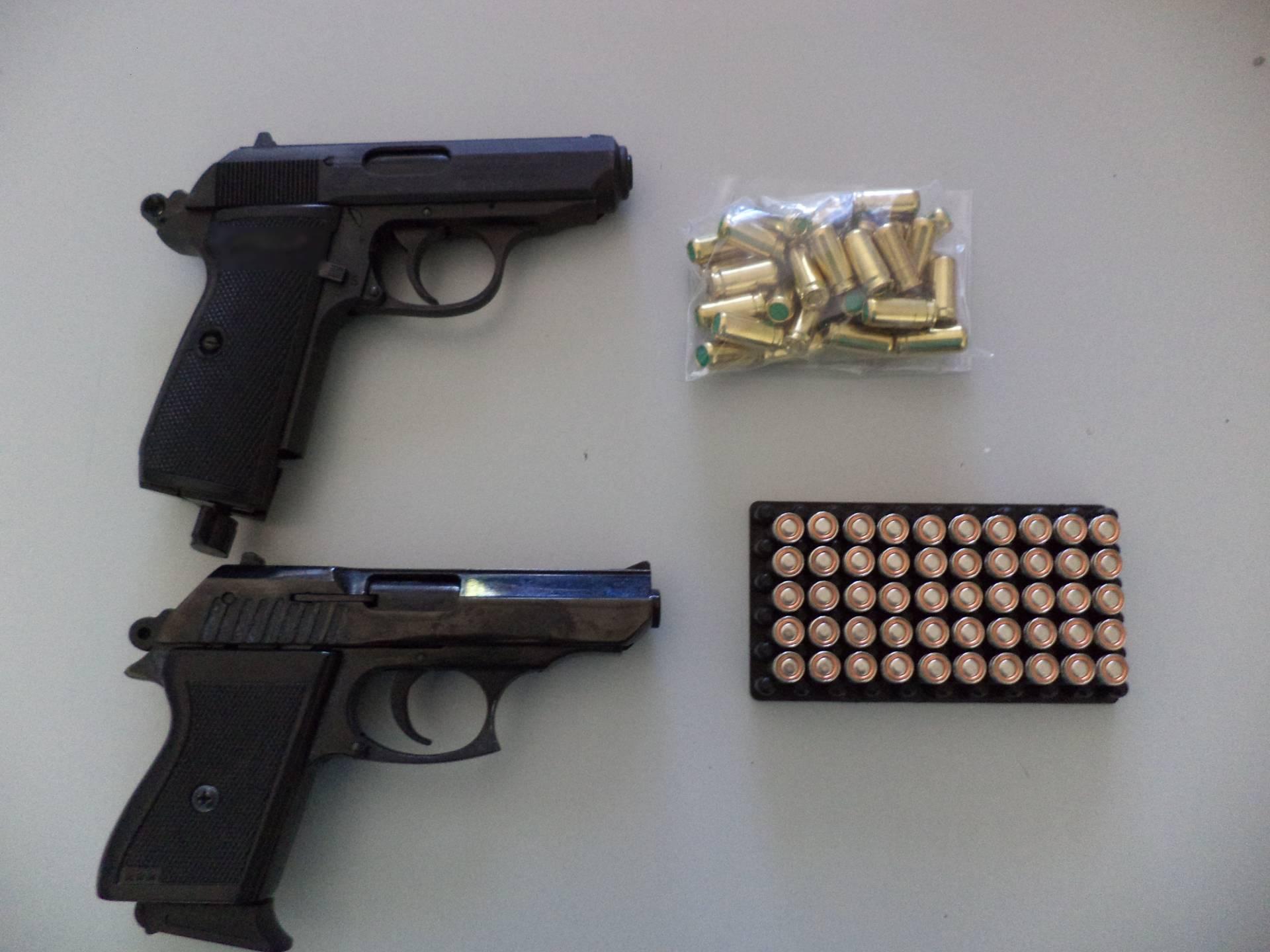 Σύλληψη 28χρονου ημεδαπού στην Φλώρινα για παράβαση του νόμου περί όπλων