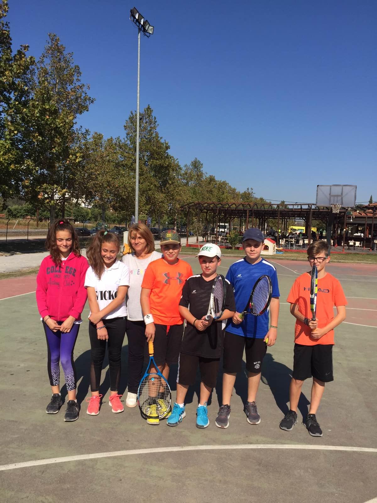 Συμμετοχή του Αθλητικού Συλλόγου Αντισφαίρισης Γρεβενών στο βαθμολογούμενο Πρωτάθλημα JUNIOR Ε3 43ης εβδομάδας 2019 για αγόρια– κορίτσια 12