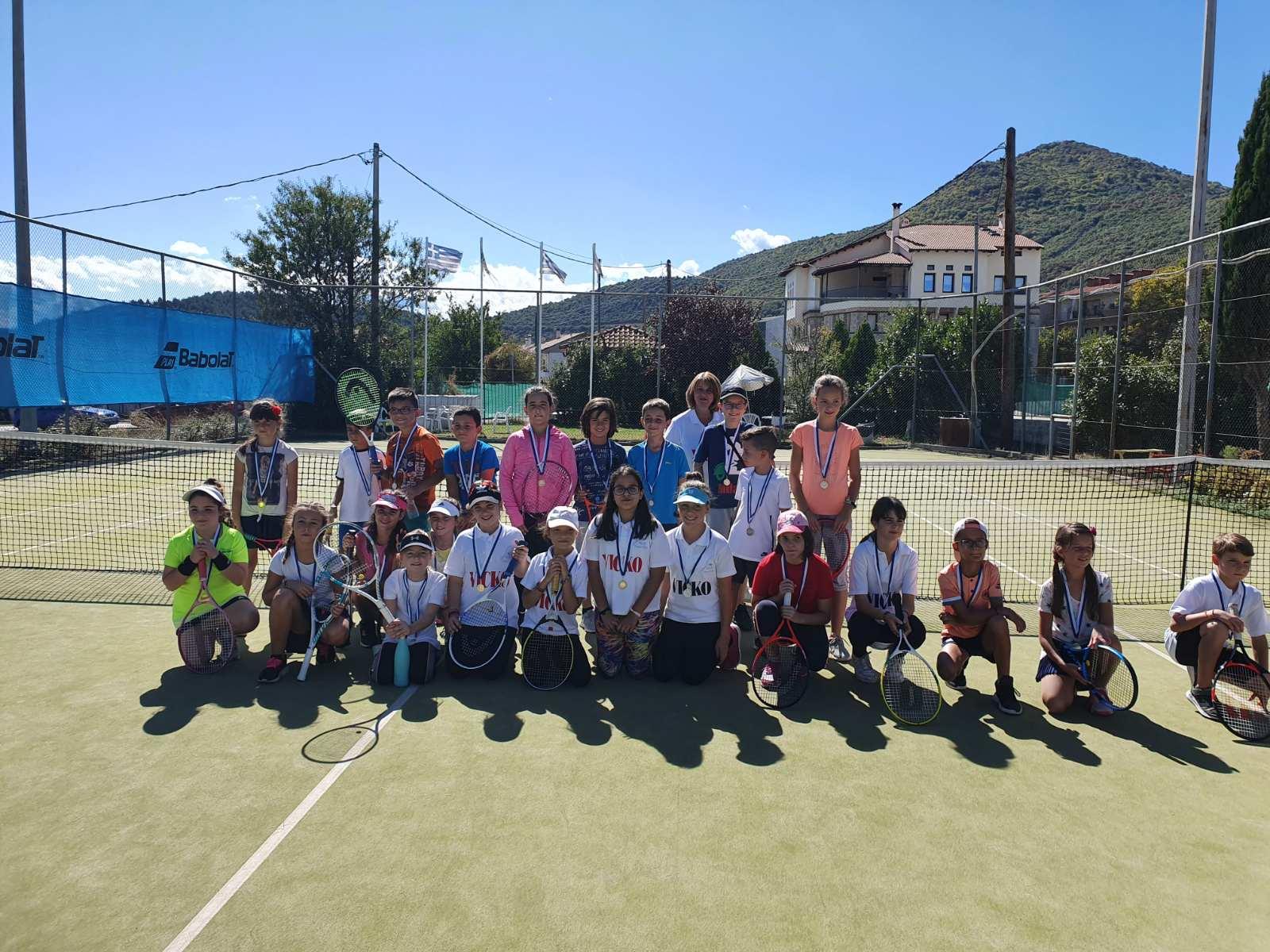 Συμμετοχή του Συλλόγου Τένις Γρεβενών στο προπαιδικό τουρνουά στην Καστοριά