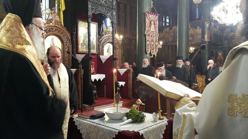 Αγιασμό όλων των δράσεων της Ιεράς Μητροπόλεως Γρεβενών τέλεσε ο Σεβασμιώτατος Μητροπολίτης Γρεβενών κ. Δαβίδ