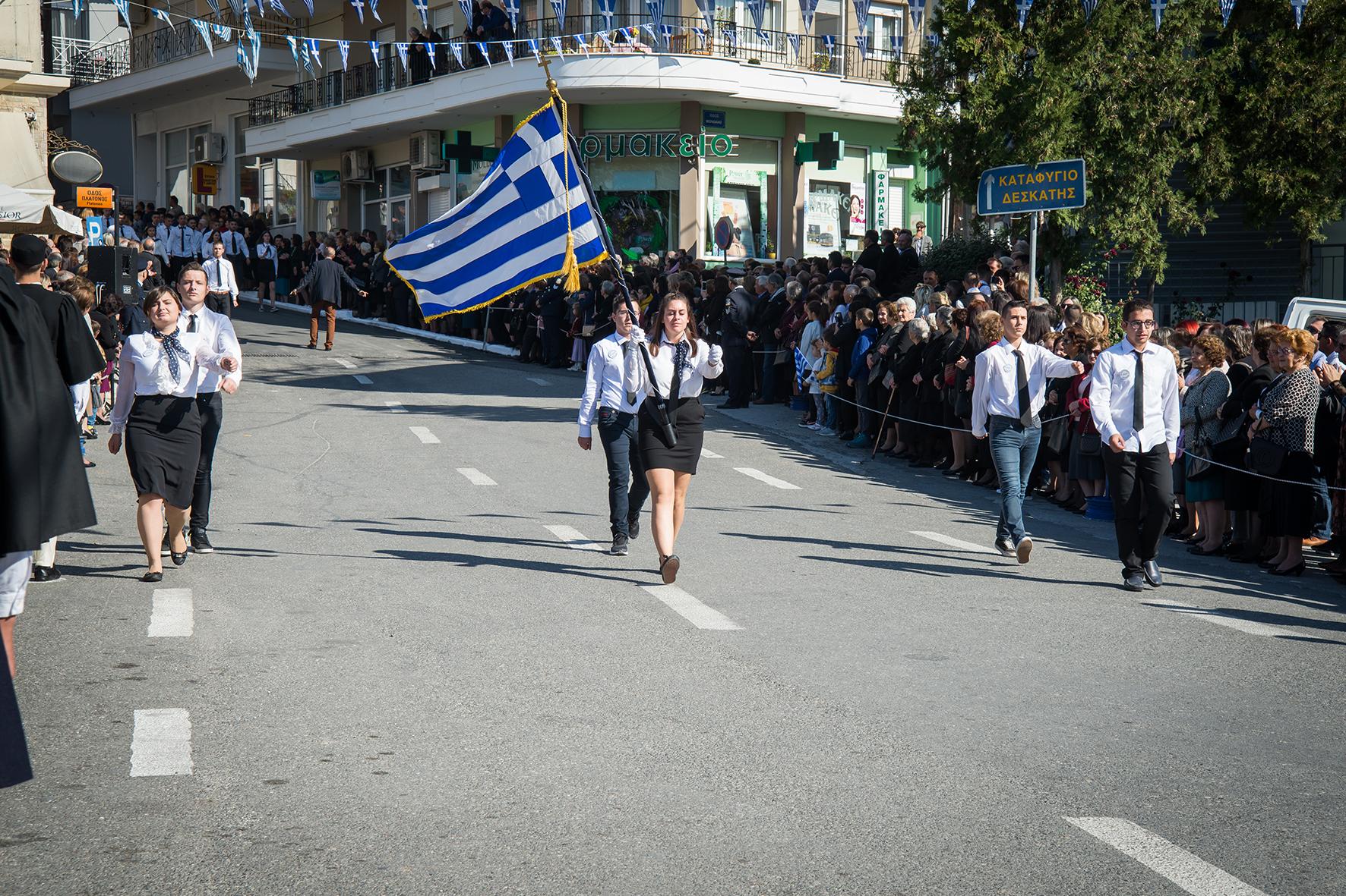 Η επέτειος του ΟΧΙ της 28ης Οκτωβρίου στην Δεσκάτη Γρεβενών
