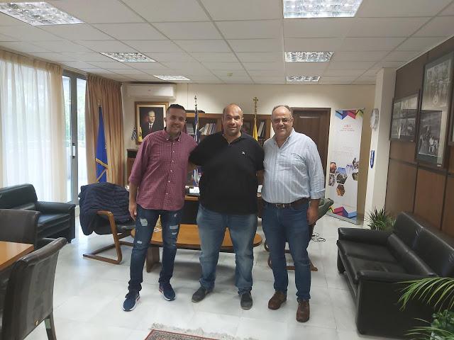 Συνάντηση του Αντιπεριφερειάρχη Γρεβενών με τον Πρόεδρο και τον Γενικό Αρχηγό του Πυρσού