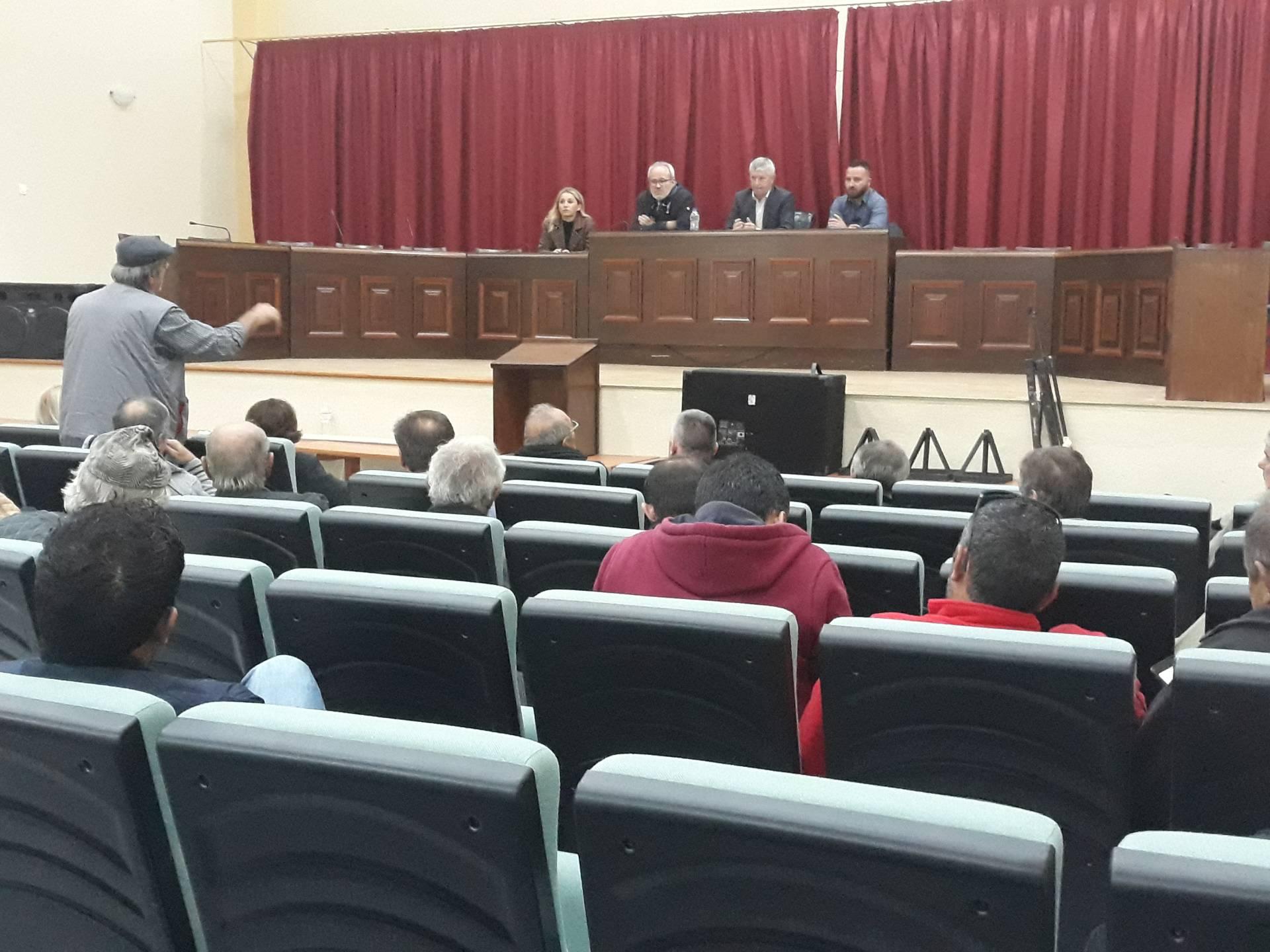 Λαϊκή συνέλευση του Δήμου Δεσκάτης για την κατάρτιση του τεχνικού προγράμματος