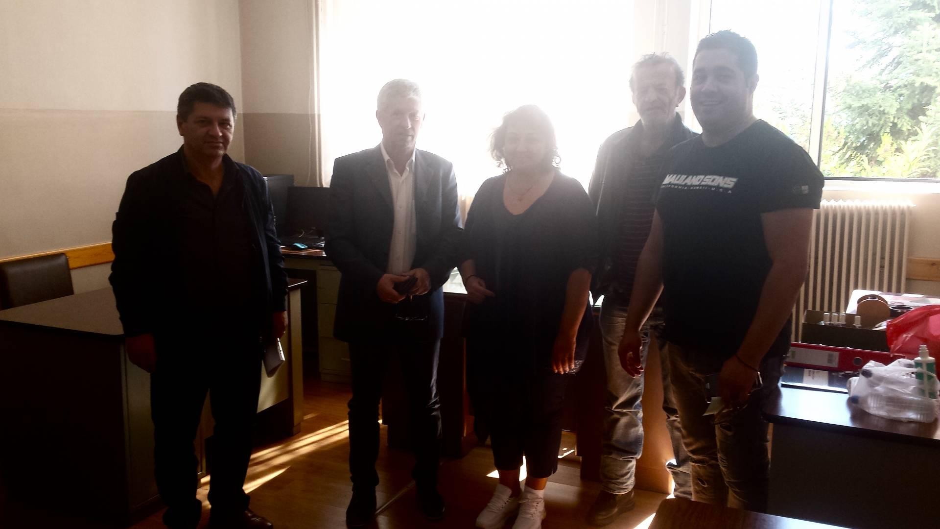 Συνάντηση του Δημάρχου Δεσκάτης Κορδίλα Δημήτρη με τους διευθυντές των σχολείων Β΄θμιας Εκπαίδευσης