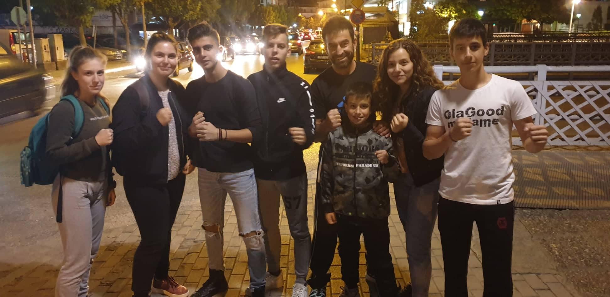 Πανελλήνιο πρωτάθλημα πυγμαχίας παίδων-κορασίδων-Συμμετοχή αθλητών του ΑΓΣ Ελιμειώτης