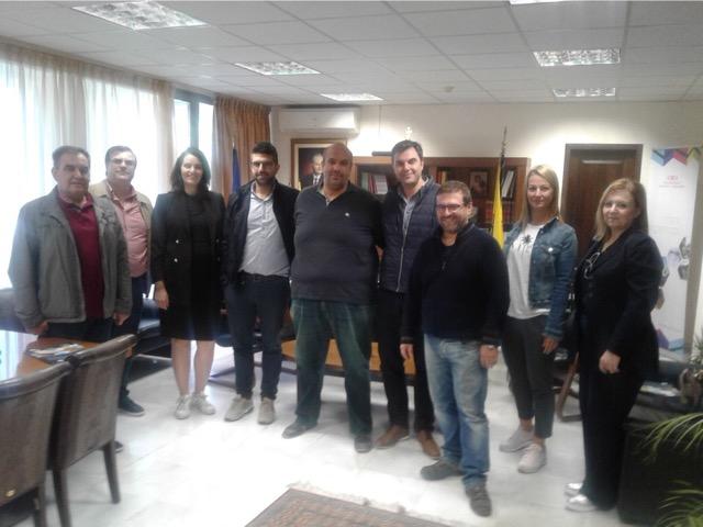 Επίσκεψη κλιμακίου της Δημοκρατικής Κίνησης Μηχανικών στον Αντιπεριφερειάρχη Γρεβενών