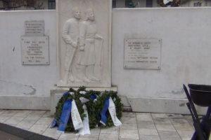 Γρεβενά: Εορτασμός της Εθνικής Αντίστασης (Βίντεο – Φωτογραφίες)