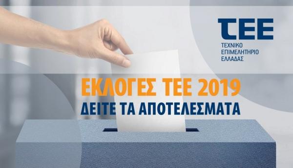 Αποτελέσματα εκλογών του ΤΕΕ – Ιστορική πρωτιά ΔΚΜ