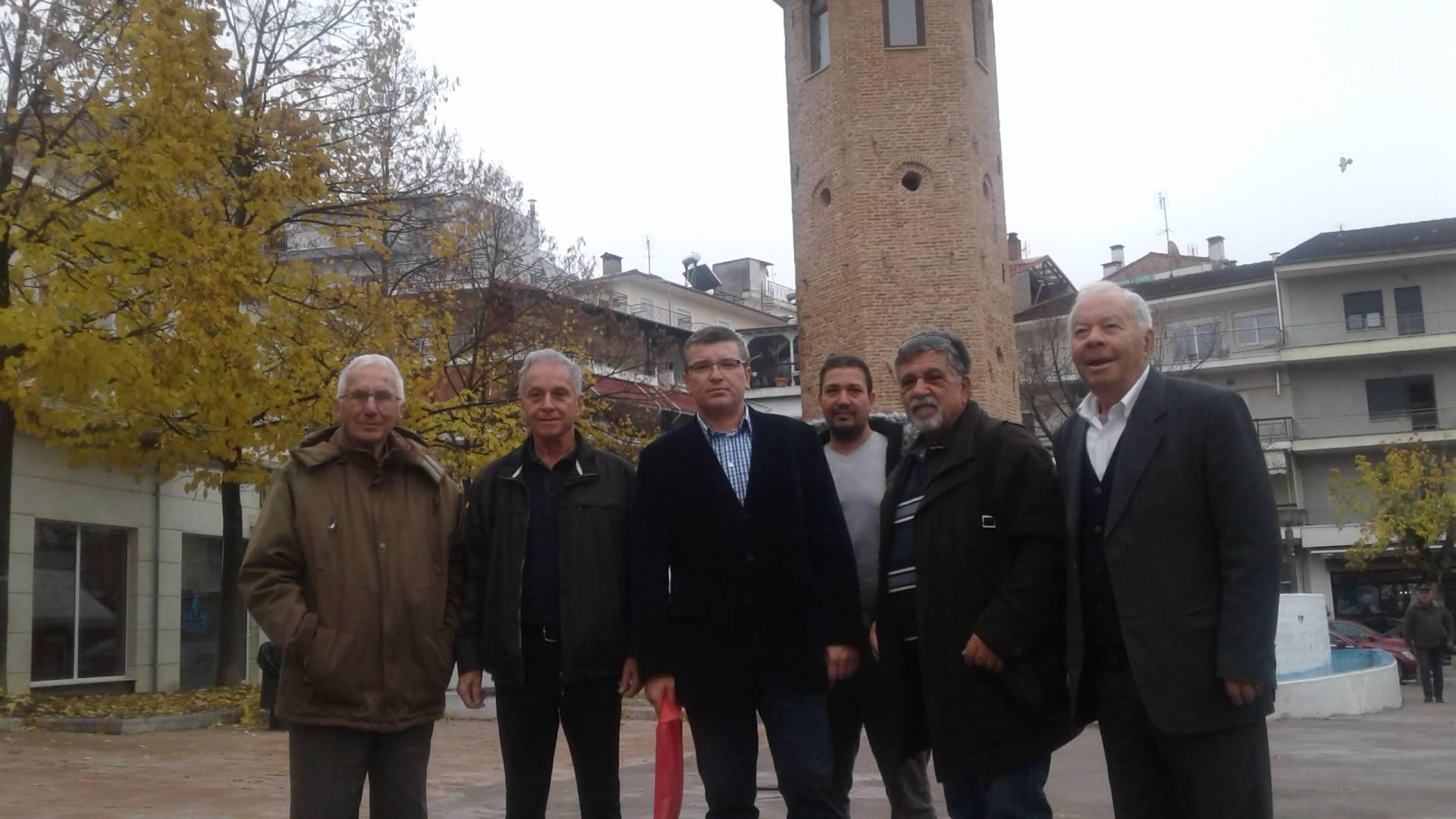Επίσκεψη συνδέσμου Εφέδρων Αξιωματικών Αιτωλοακαρνανίας στον Νομό Γρεβενών