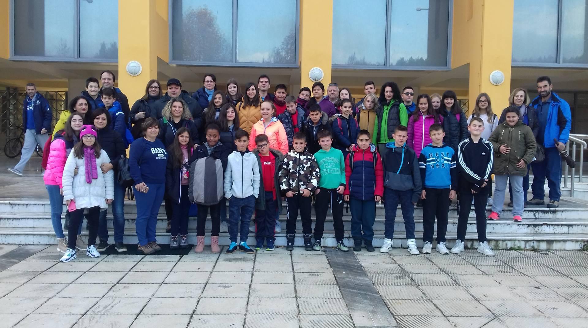 Δεύτερη ημέρα του ευρωπαϊκού προγράμματος ERASMUS+.Την Ελλάδα εκπροσωπεί το 3ο Δημοτικό Σχολείο Γρεβενών
