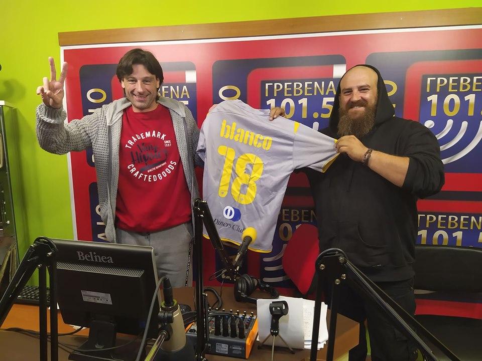 Ακούστε ξανά την συνέντευξη του προπονητή της ΑΕΚ esports Χρήστου Γρίδα στο Ράδιο Γρεβενά 101.5