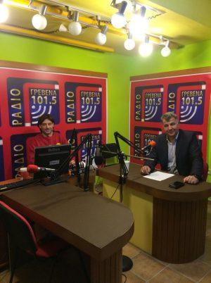 Η συνέντευξη του Ευάγγελου Σημανδράκου στο Ράδιο Γρεβενα (Βίντεο)