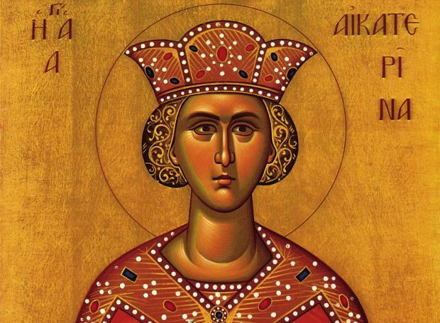 Γιορτάζει σήμερα η Αγία Αικατερίνη – Η ζωή και η δράση της