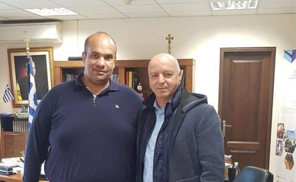Τον Αντιπεριφερειάρχη επισκέφθηκε ο Πρόεδρος της Πανελλήνιας Ομοσπονδίας Πολιτιστικών Συλλόγων Βλάχων