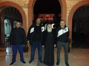 Γρεβενά:Μέλη του club ΠΑΟΚ βρέθηκαν στην Αλβανία για να παραδώσουν στους σεισμοπαθείς είδη πρώτης ανάγκης