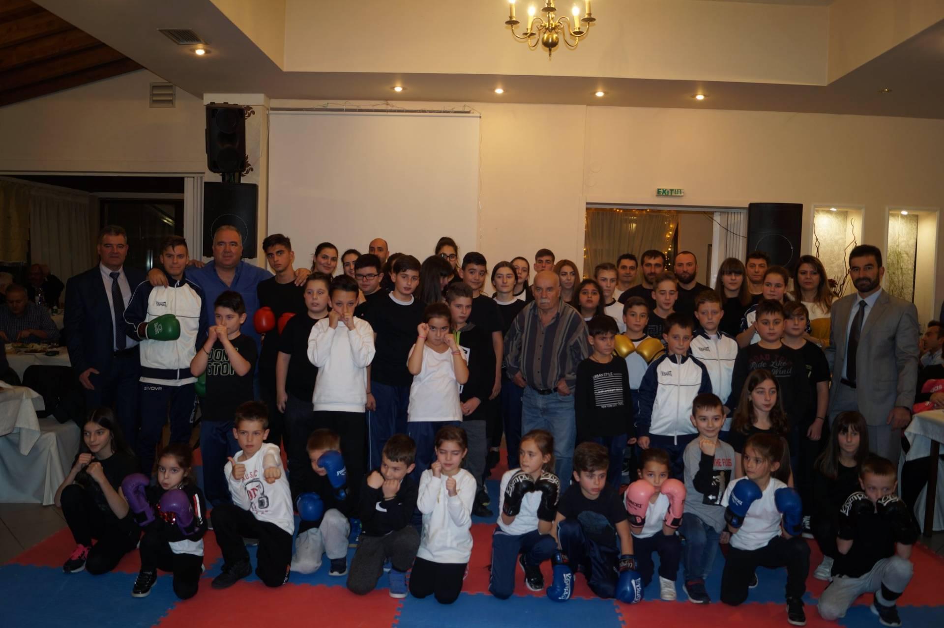 Eτήσια εκδήλωση για τον Α.Γ.Σ. Ελιμειώτη Tsepidis Boxing Club
