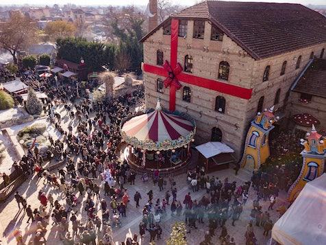 Τρίκαλα:85.000 άνθρωποι επισκέφθηκαν τον «Μύλο των ξωτικών» μέσα σε τρεις μέρες
