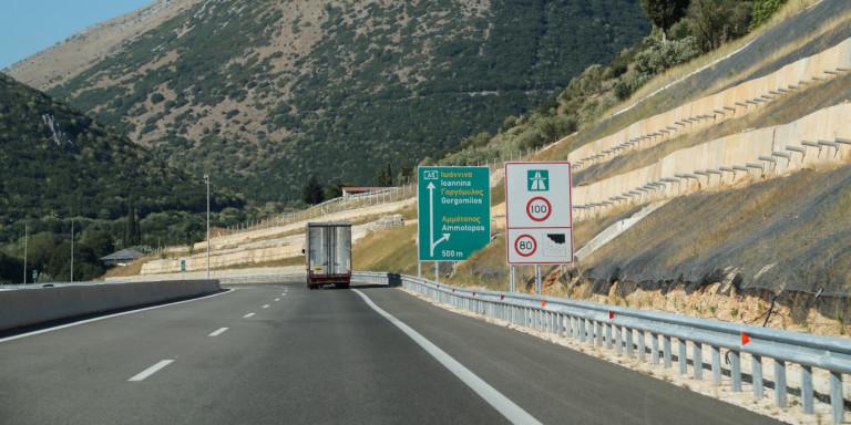 Ιωάννινα:Φορτηγά με «πειραγμένους» ταχογράφους εντοπίστηκαν στην Ιόνια Οδό