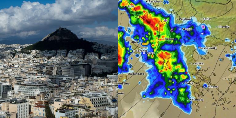 Καιρός Χριστουγέννων: Ερχεται ασυνήθιστη θερμή εισβολή και μετά βροχές