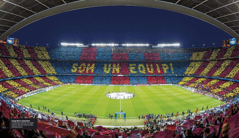 Xoρός στα αστέρια … της Βαρκελώνης ..!!!
