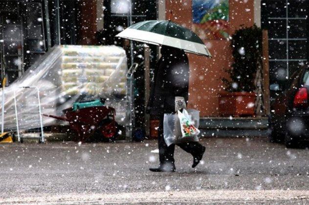Με βροχές και χιονοπτώσεις ξεκινά η εβδομάδα