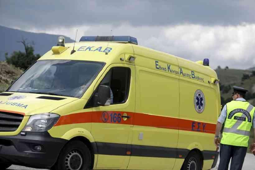 Τροχαίο ατύχημα στην Εγνατία Οδό έξω από την Κοζάνη
