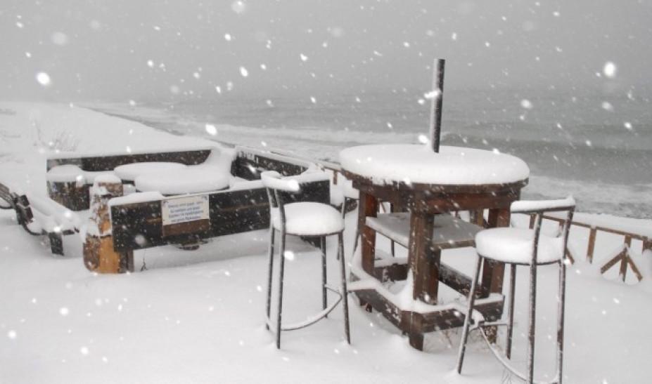 Λευκά Θεοφάνεια με τον Ηφαιστίωνα: Πού χιονίζει και πώς θα κινηθεί η κακοκαιρία