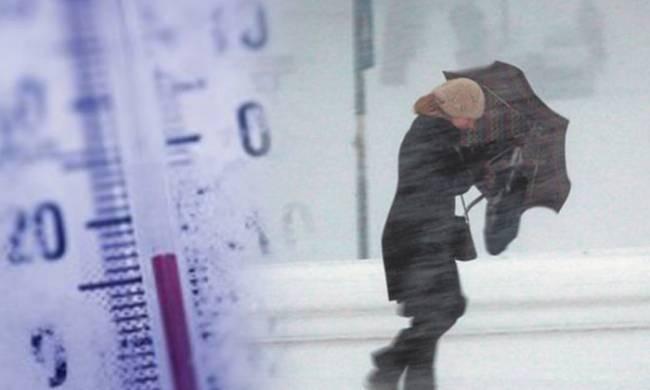Στους -9  έπεσε η θερμοκρασία σήμερα Παρασκευή στην πόλη των Γρεβενών