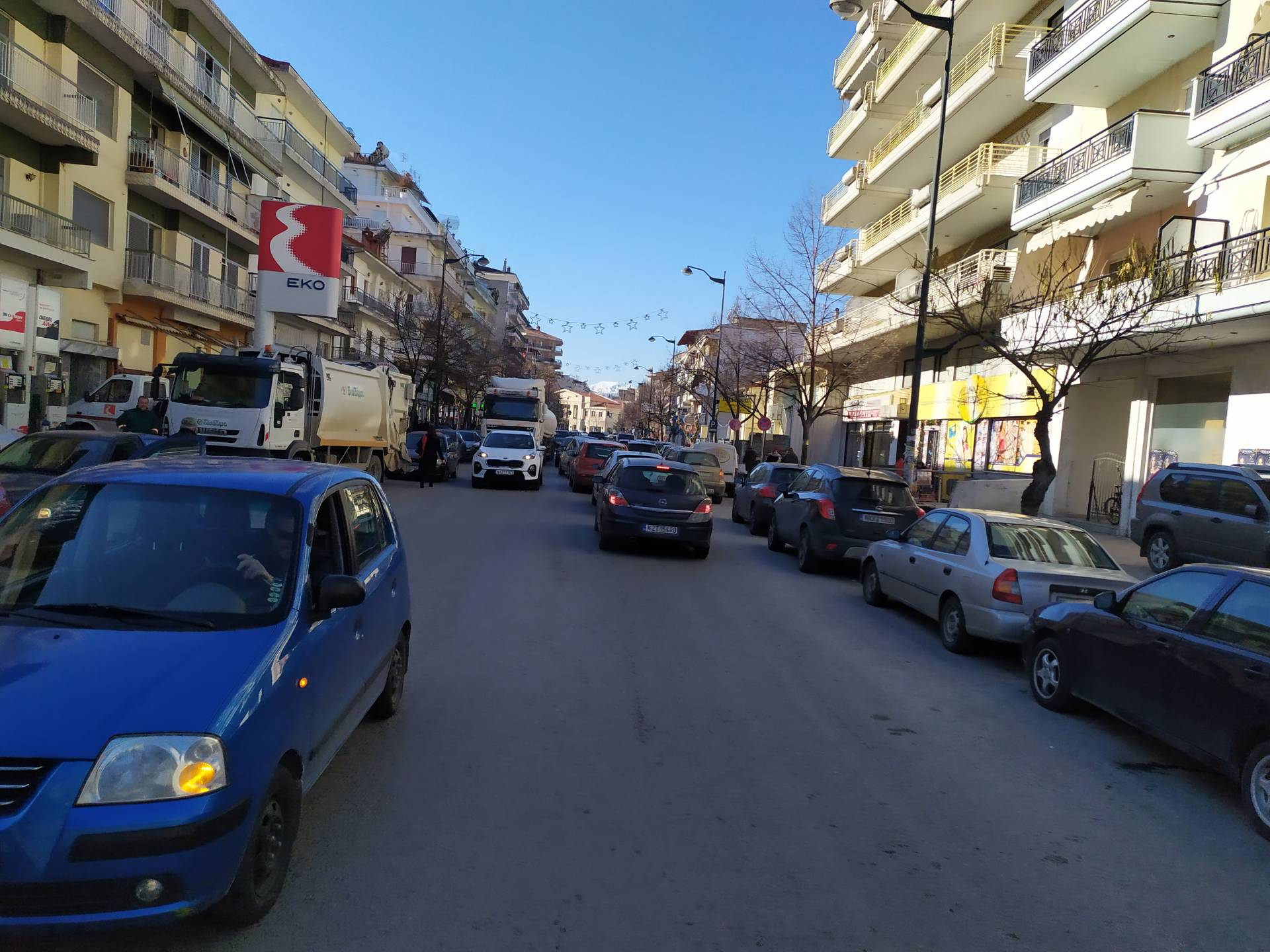 Σχόλιο: Το χάος στην Κωνσταντίνου Ταλιαδούρη συνεχίζεται