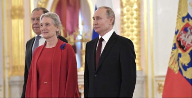 Μια Γρεβενιώτισσα πρέσβειρα της Ελλάδας στην Ρωσία